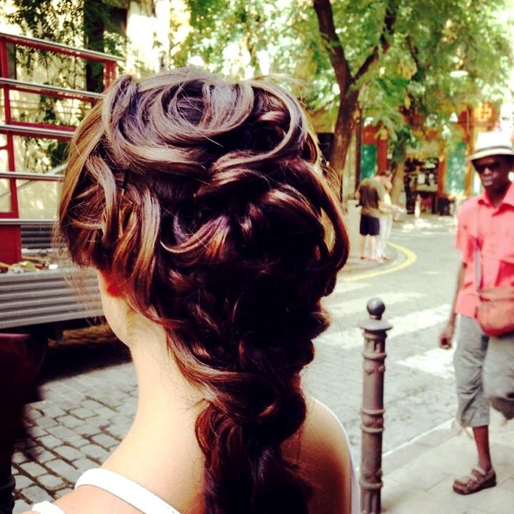 Recogidos peluqueria pepelu